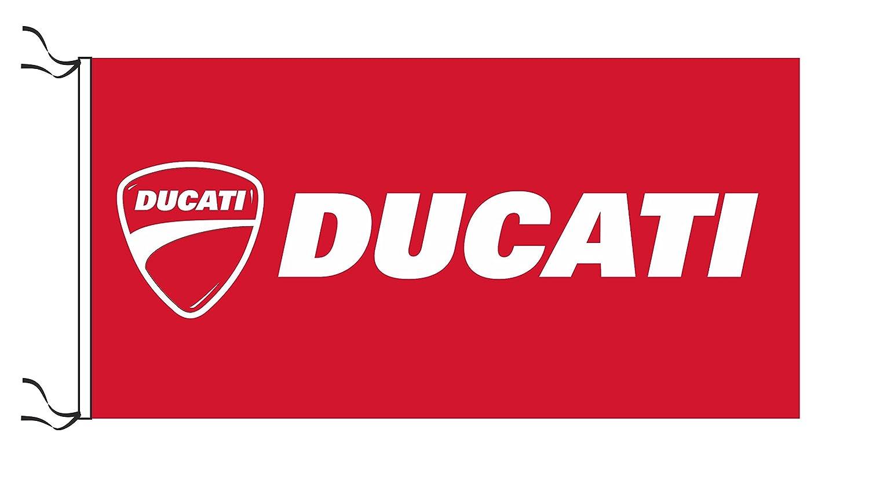 Amazon.com: Ducati bandera: Jardín y Exteriores