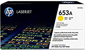 HP 653A | CF322A | Toner Cartridge | Yellow
