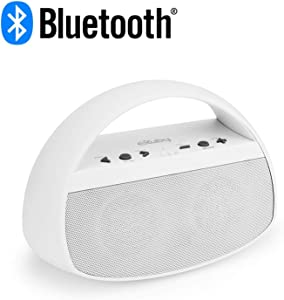 Sleep Sound Machine for Adults - Go to Sleep w/ 20 Soothing Sounds; Fan, Rain, Ocean, Office & More - Stylish & Modern Design Bluetooth Speaker - Crisp Stereo Sound - Matte White