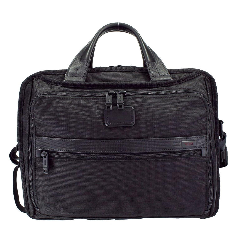 トゥミ ビジネスバッグ 26132D2 ブラック オーガナイザーブリーフ [並行輸入品] B073RBWVC2