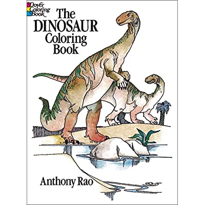 Dover Publishing Little Activity Books: Dinosaur Coloring: Toys & Games