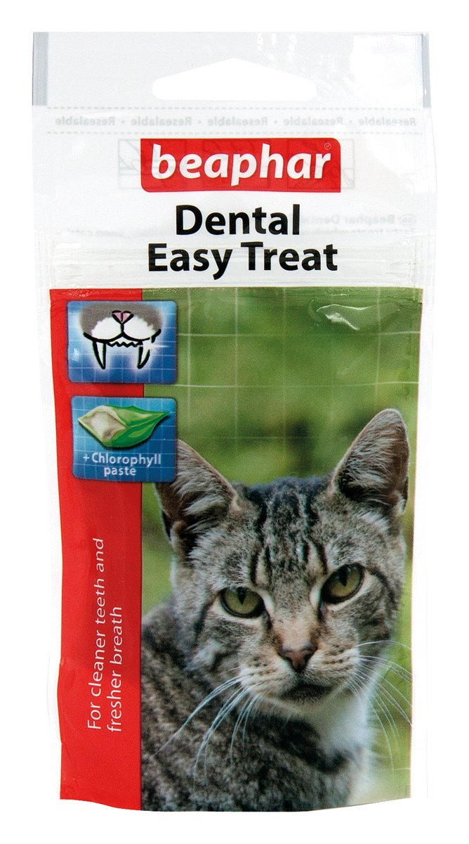 (3 Pack) Beaphar - Dental Easy Cat Treat 35g