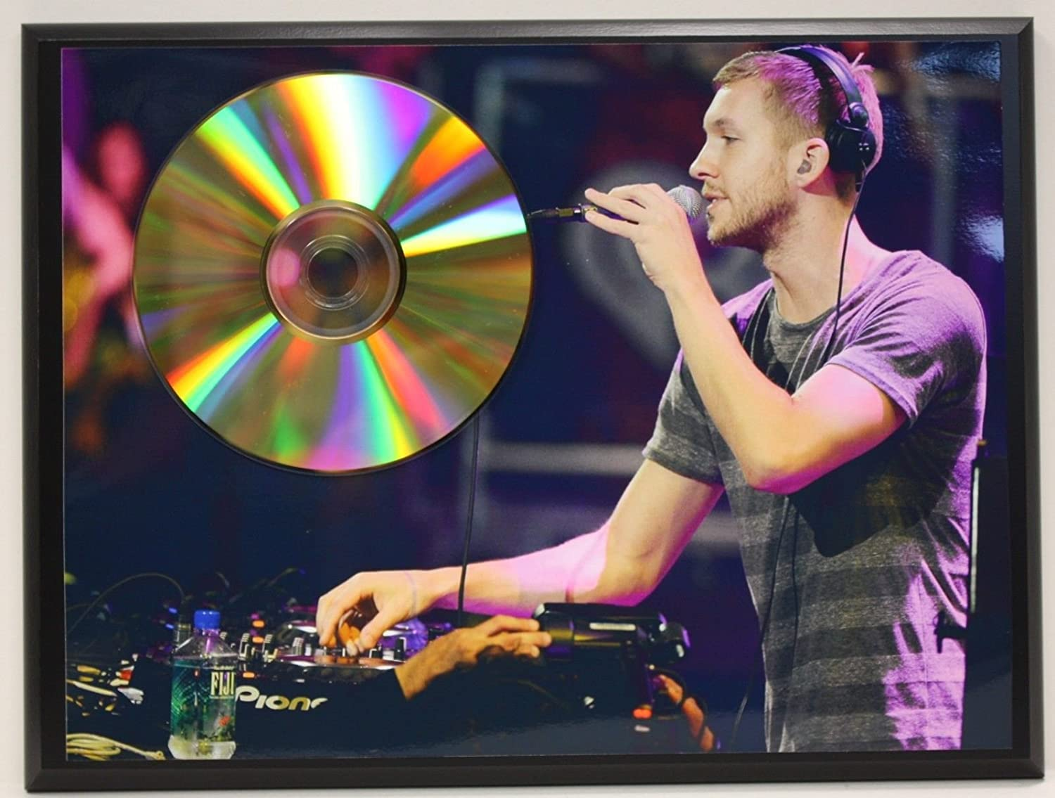 Calvin Harris 24KT Gold CD Ltd Edition Plaque