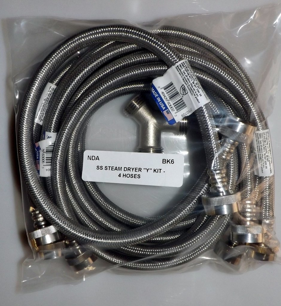 Steam Dryer Stainless Steel Connection Kit