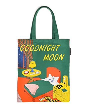 Amazon.com: Out of Print Goodnight Moon Tote Bag, 15 X 17 Inches ...