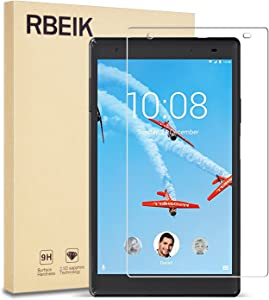 RBEIK TAB 4 8 Plus Screen Protector Glass 9H Hardness Scratch Resistant Bubble Free Tempered Glass Screen Protector for TAB 4 8 Plus 8 inches Tablet 2017 Release