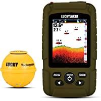 $130 » LUCKY Portable Sonar Fish Finder Boat Depth Fishing Fish Finders Waterproof Handheld…