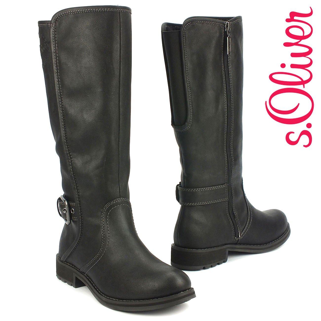 oliver S Langschaft StiefelReiterlook Damen Winter ID2EWH9