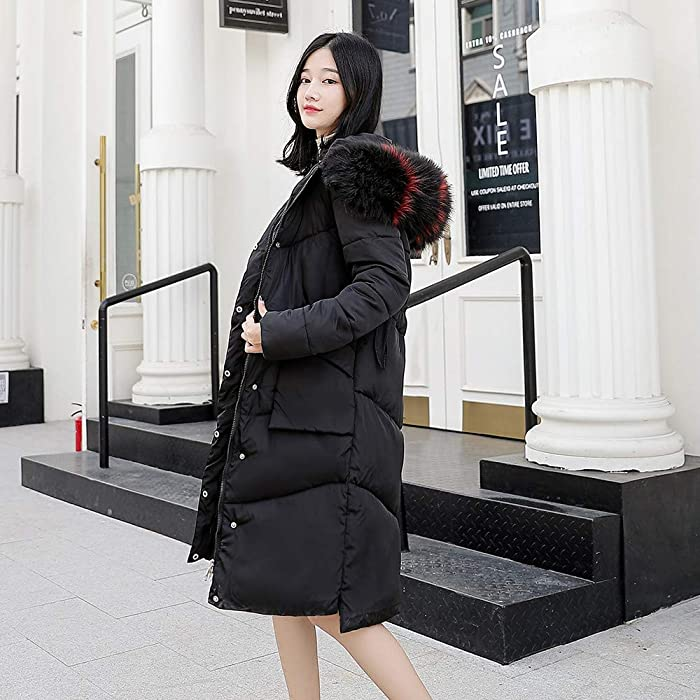 Amazon.com: DICPOLIA Women Thicken Warm Winter Jackets Coat ...