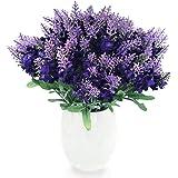 Amazon 27 silk bluebonnet flower spray blue pack of 12 conjugal bliss artificial lavender silk flower 10 bouquet organic purple lavender fake flowers for wedding mightylinksfo
