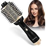 Hot Air Brush,Hair Dryer Brush, Upgrade One Step Hair Dryer & Volumizer, Multifunctional 5 in 1 Brush Blow Styler and…