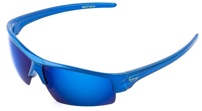 f3370caff4 Sunner Gafas de Sol Deportivas Para Hombre y Mujer SUS4713 Protección UV400  Lentes Polarizadas Montura Ligera