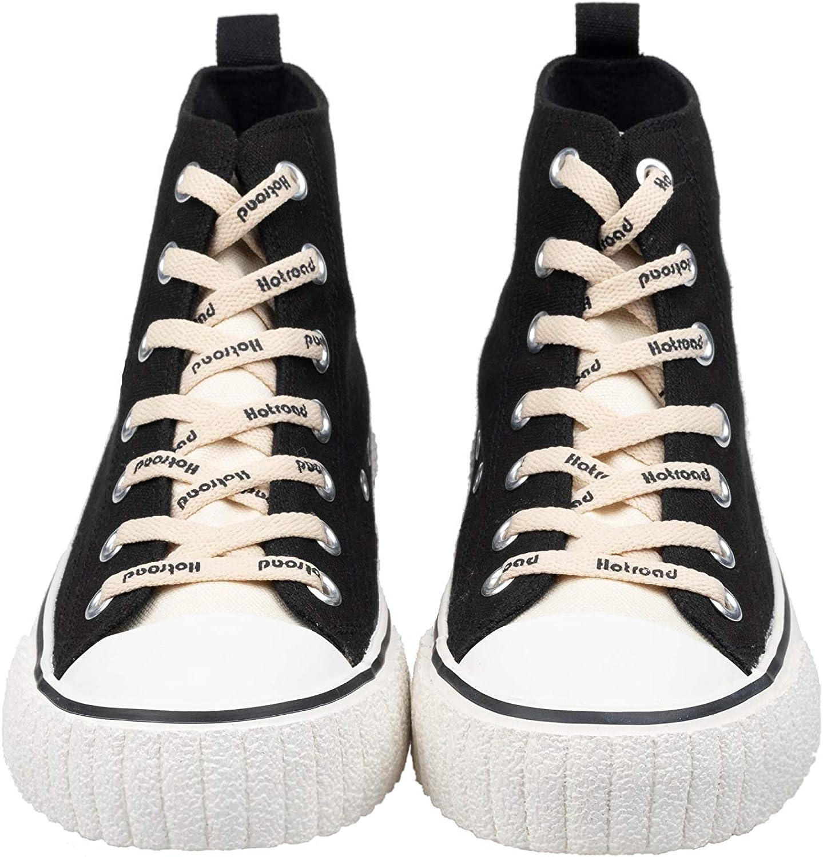 Hotroad Femmes Toile Classique Mode Sneakers Casual Bas Haut