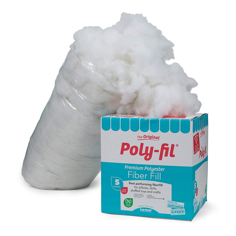 Fairfield PF-5 Poly-Fil Premium Fiber 2 Packs