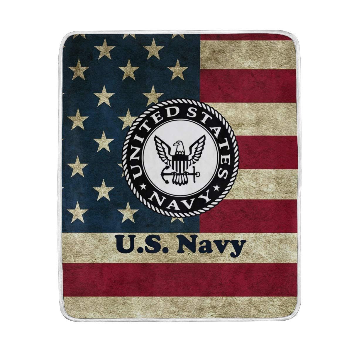 poeticcity ブランケット 1枚 米国海軍 フラシ天 シエスタキャンプ 50インチX60インチ 旅行用フリースブランケット 軽量 ソフトベッド 安全 ソファ カーペット 50