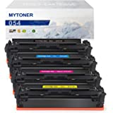 MYTONER Compatible Toner Cartridge 054 Replacement for Canon 054 054H CRG-054 tone for Canon Color Image Class MF644Cdw MF642Cdw MF640C LBP622Cdw LBP620 Printer ink (Black,Cyan,Magenta,Yellow, 4-Pack)
