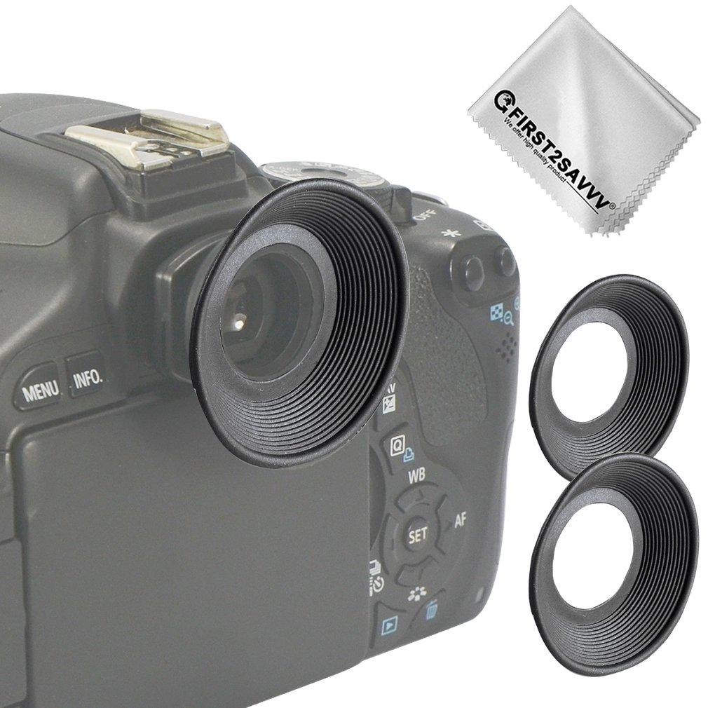 2Pcs EyeCup Eyepiece For Canon EOS 450D 500D 550D 600D 650D 1000D Camera