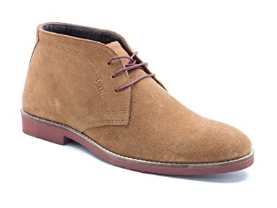 Red Tape Dorney Tan Brown Suede Mens Casual Desert Boots  B01MRLV422