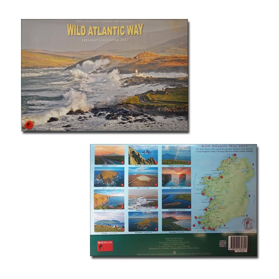 Wild Atlantic Way A4-Wandkalender