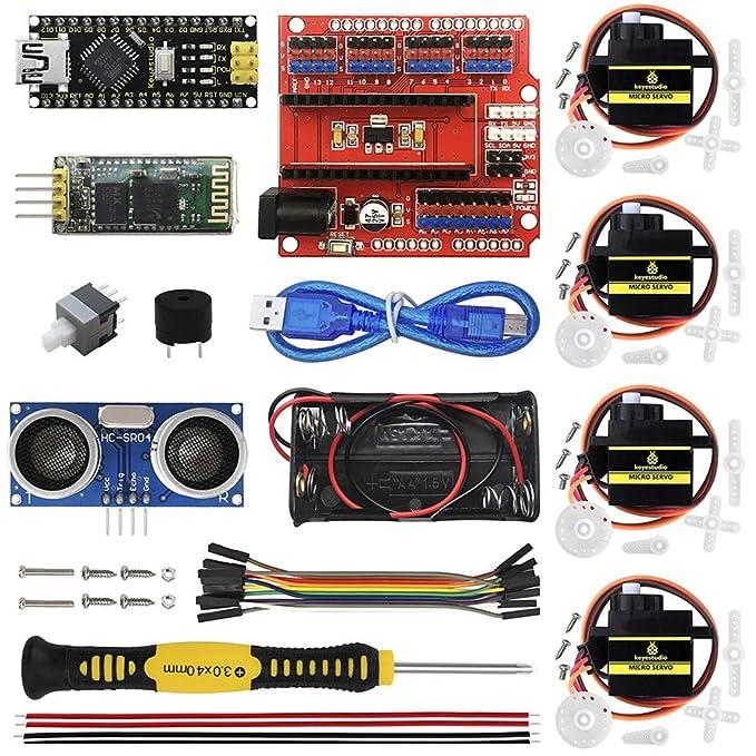 H HILABEE Kit de Robot Inteligente Partes Electrónicas de Inicio ...