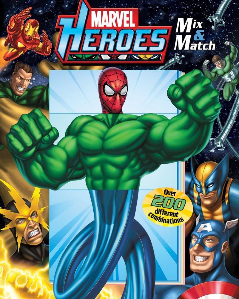 Marvel Heroes: Mix & Match pdf