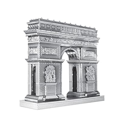Metal Earth Fascinations ICX005 502886, Arc de Triomphe, Construction Toy 2 Metal Board (Ages 14 +: Toys & Games