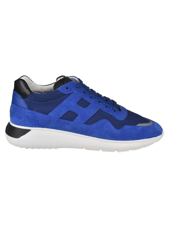 Hogan メンズ GYM3710AJ10J4V6EE0 ブルー ファブリック 運動靴 B07DTVMVT7