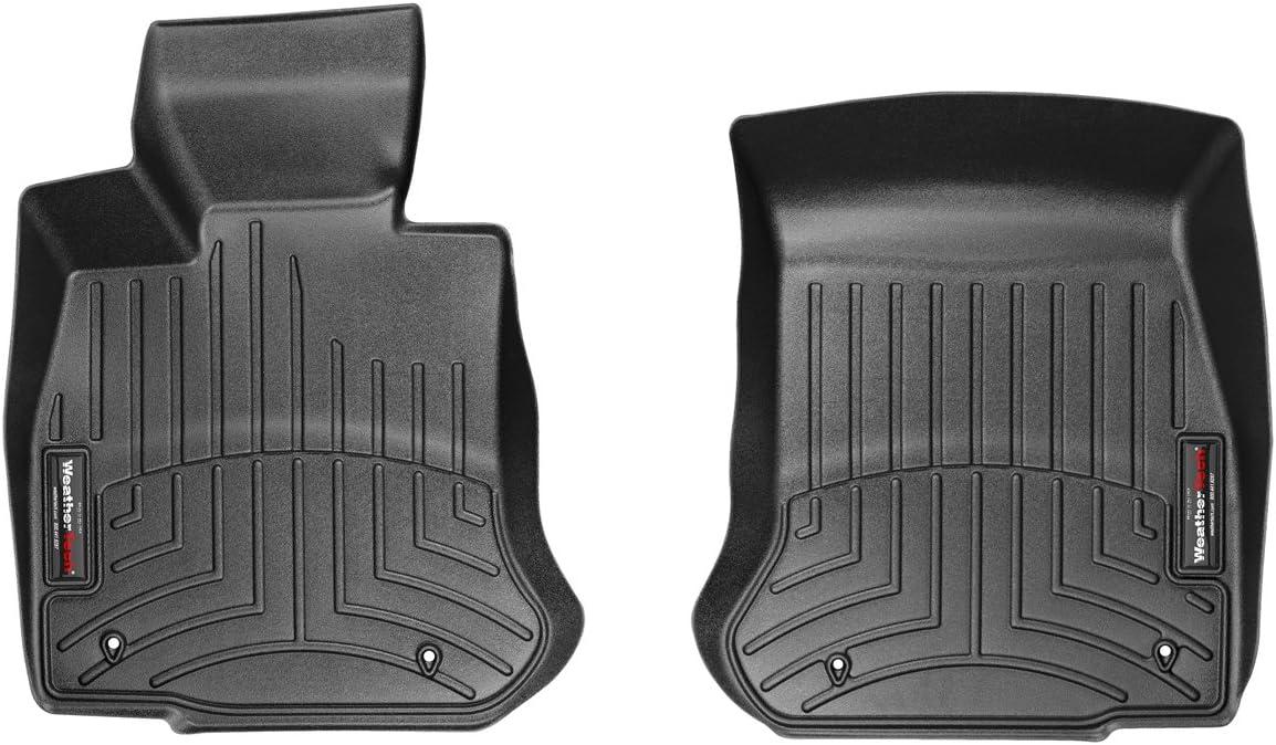 WeatherTech Front FloorLiner for Select BMW Models Black
