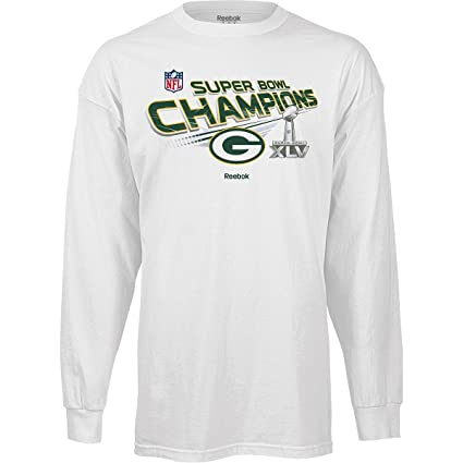 Reebok Green Bay Packers Super Bowl XLV Champions Youth (8-20) Long Sleeve