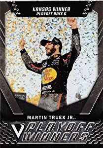 2018 Panini Victory Lane Racing #46 Martin Truex Jr. Bass Pro Shops-TRACKER Boats/Furniture Row Racing/Toyota Playoff Race Winner