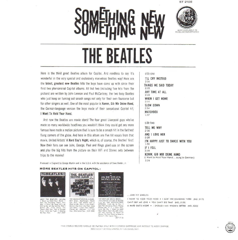 The Beatles - Something New (The U.S. Album) - Amazon.com Music