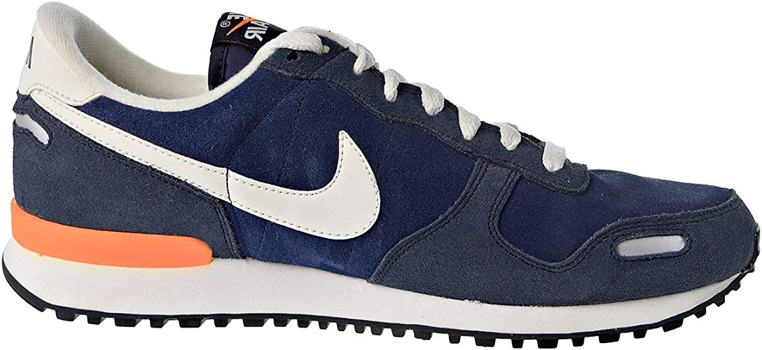Nike Air Vortex Leather Men's Shoes Mid Navy/Sail-Dark/Obsidian/Total  Orange 532495-418