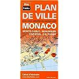 Plan de Monaco, Monte-Carlo, Beausoleil, Cap-d'Ail et de La Turbie