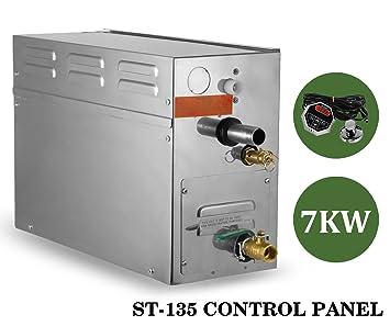 Amazon Com Happybuy 7 Kw Steam Generator 220v Sauna Bath Steamer