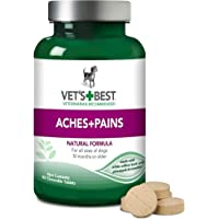 Vet's Best Aspirin Free Aches + Pains Dog Supplement | Vet Formulated for Dog Pain…