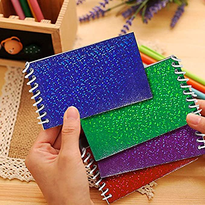 Journals 72 Pieces of Ruled Composition Notepads for Students and Professionals Kicko Spiral Notebook Assortment Scratches, Homeworks Party Favors KCO Brands Diary