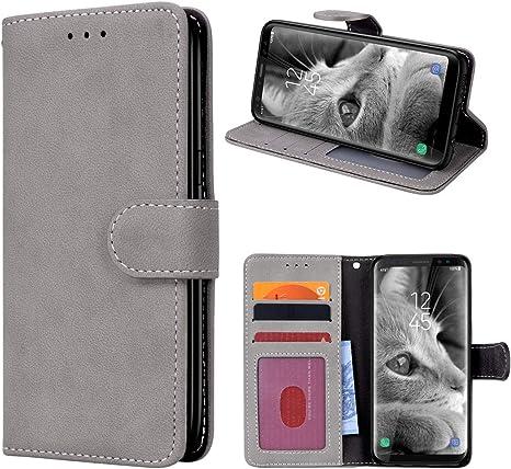 Prologfer Hülle Kompatibel Mit Samsung Galaxy S8 Grau Elektronik