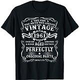 Mens 60 Years Old Gift Vintage 1961 Man Myth Legend 60th Birthday T-Shirt