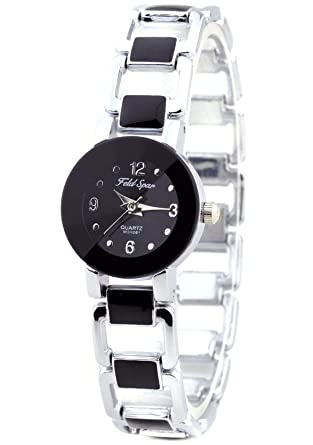 product woman view quick africa ladies zemp category watches south s oclock blackmesh white black