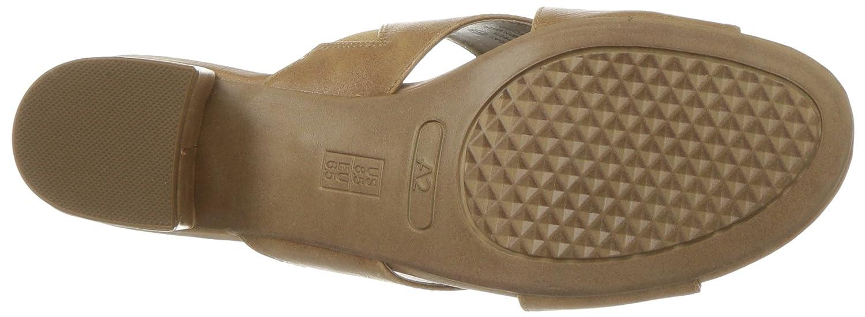 Aerosoles Women's 5 Midday Slide Sandal B076HY8724 5 Women's M US|Dark Tan 25b68c
