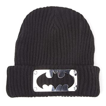 13711ec692d Batman DC Comics Metal Logo Beanie (Black)  Amazon.co.uk  Toys   Games