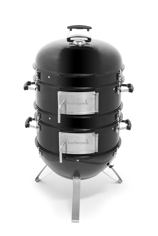 Barbecook Räucherofen Oskar L, schwarz, 75 x 75 x 117 cm, 2239875000