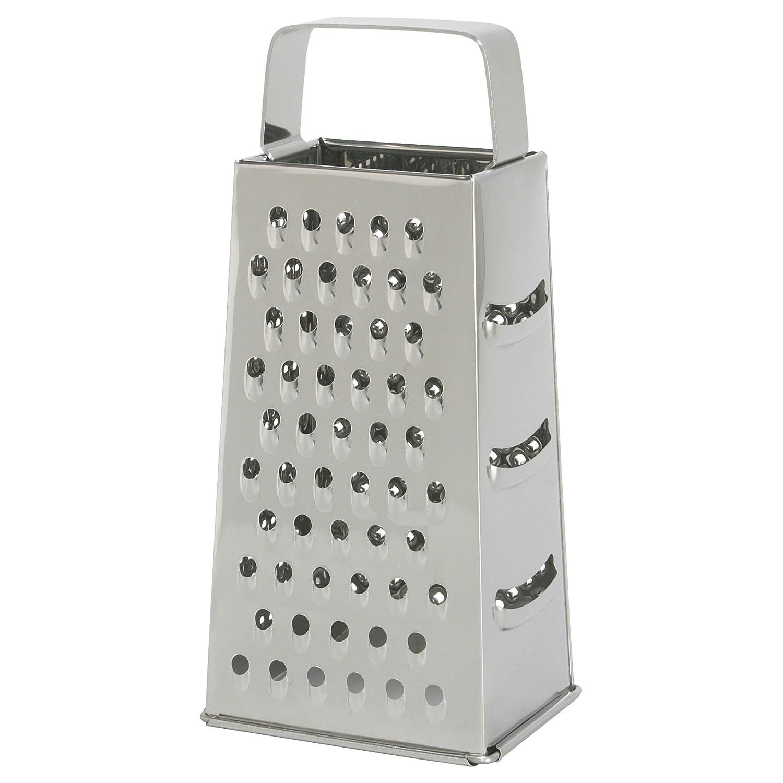 Rallador IDEALISK, acero inoxidable Cocinar herramienta cuatro ...