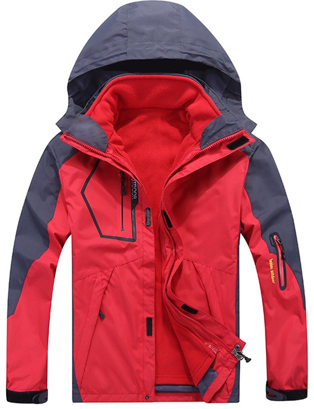 Menschwear OUTERWEAR メンズ B077C4HYBC M|Red W1201 Red W1201 M