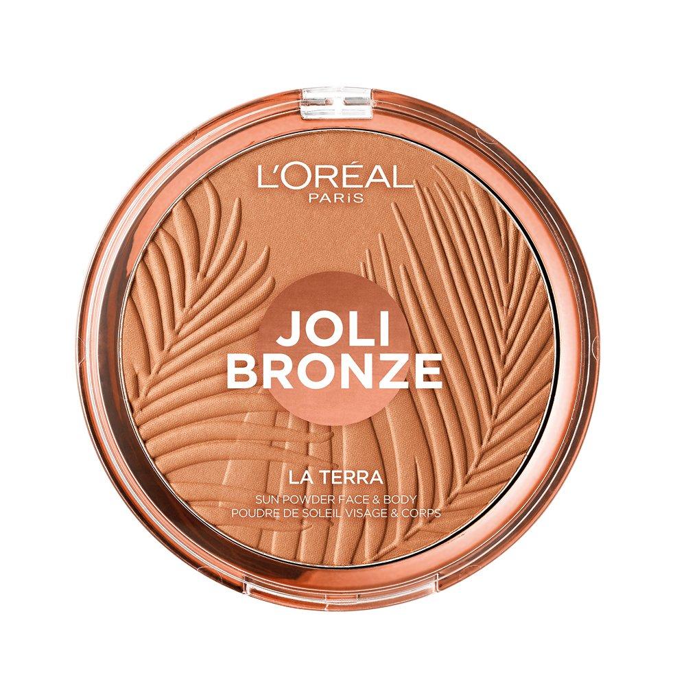 L'Oréal Paris Joli Bronze Terra Make Up Abbronzante Viso in Polvere, Texture Leggera, 01 Portofino, 18 g L' Oréal Paris 26N71I