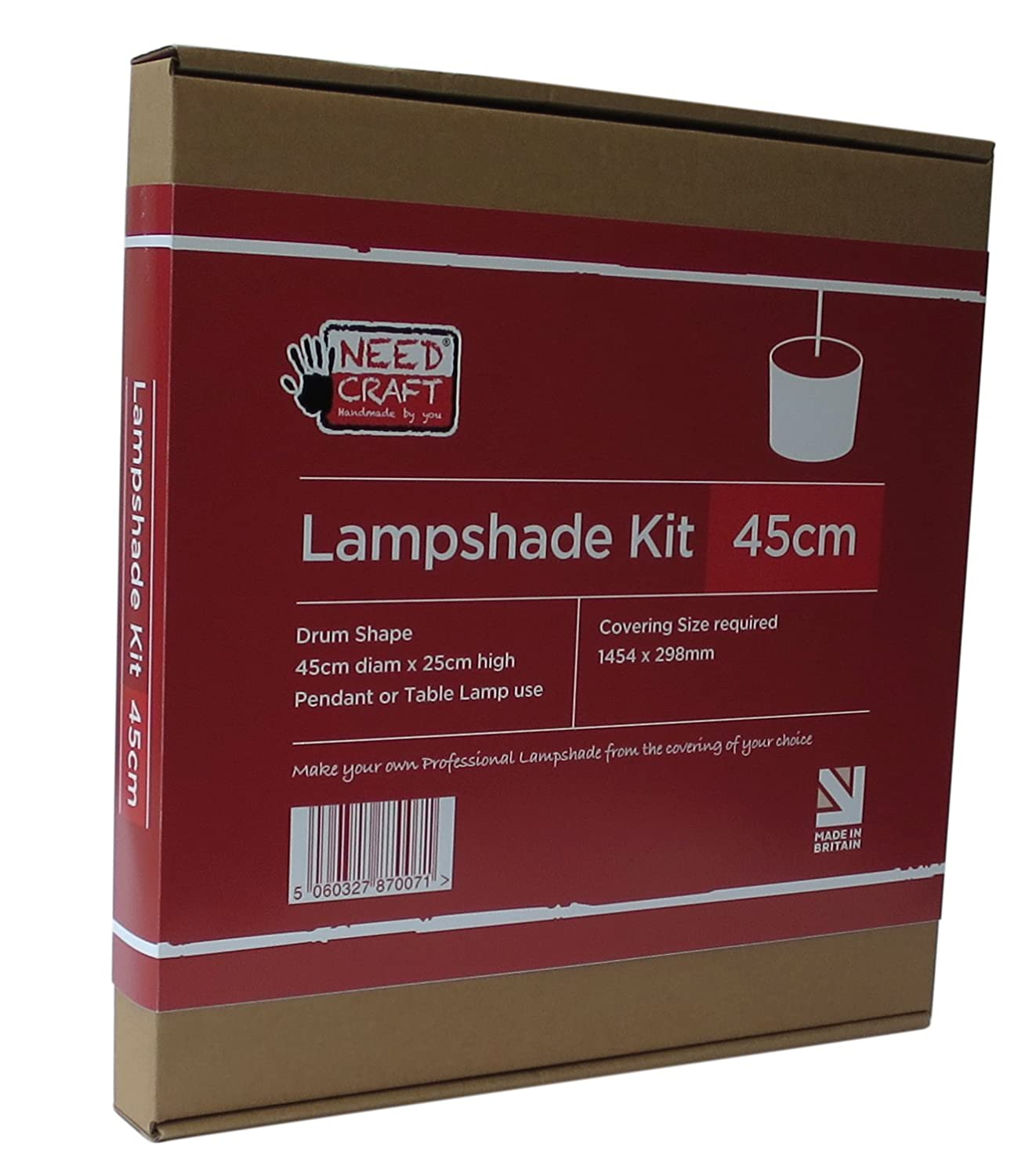 Make your own craft table - 45cm Lampshade Making Kit For Pendants Table Or Floor Lamps Amazon Co Uk Lighting