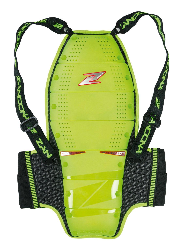 Giro Vita 70-77 cm Zandon/à Paraschiena Spine EVC x8 High Visibility XS Nero Altezza 178//187 cm