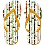 CafePress - Orange Clarinet - Flip Flops, Funny Thong Sandals, Beach Sandals