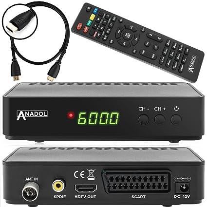 FULL Digital Sat Receiver HDTV HDMI SCART USB 1080p DVB-S2 USB Easy Find N