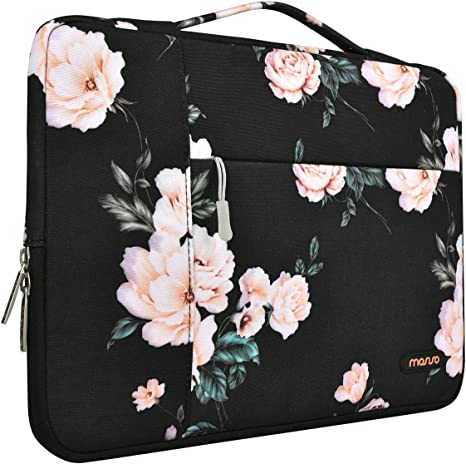 MOSISO Laptop Sleeve Compatible with MacBook Pro 16 inch, 15 inch 15.4 inch 15.6 inch Dell Lenovo HP Asus Acer Samsung Sony Chromebook, Polyester ...
